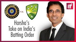 "India's tour of Australia 2016 India - One Batsman Short"" - Harsha Bhogle"
