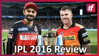 IPL 2016 Finals Review Sunrisers Hyderabad VS Royal Challengers Bangalore