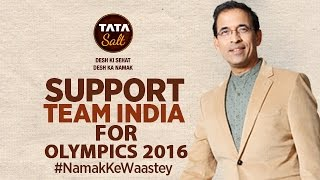 Facts about Olympics 2016 Harsha Bhogle supports Indian Contingent for Rio- 2016 - #NamakKeWaaste