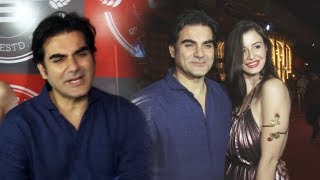 Arbaaz Khan With Girlfriend Giorgia Andriani At BARREL 1st Anniversary Celebration