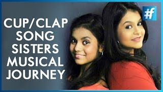 Clap/Cup Sisters Antara & Ankita Musical Journey - #fame Music