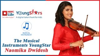 HDFC Life YoungStars | Musical Instruments Winner Naomika Dwidesh performs with Mentor Raghav Sachar