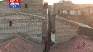 સોમનાથ-માઢવાડમાં દરિયાના મોજાની થપાટ લગતા મકાન ધરાસાય