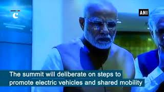 PM Narendra Modi attends India's first Global mobility summit : MOVE