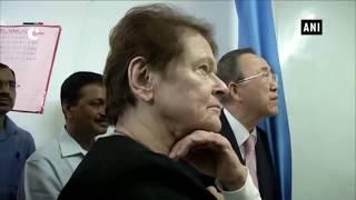 Former UN Secretary-General Ban Ki-Moon, former Norway PM and CM Kejriwal visit Mohalla Clinic