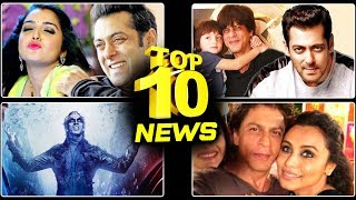ROBOT 2.0 Teaser Official Announcement, Salman GIFTS Being Human Cycle To Shahrukh's Son AbRam