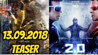 2PointO Movie Poster  Decoded I 2PointO Teaser On September 13 2018
