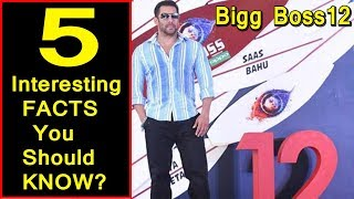 5 Interesting Facts You Should Know Before Watching Bigg Boss 12