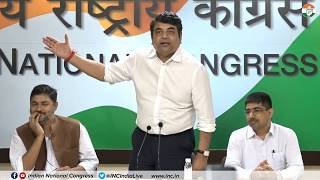 AICC Press Briefing By RPN Singh at Congress HQ on Fuel Price