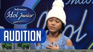Wow! Gisela langsung mendapatkan 4 YES dari juri! - AUDITION 2 - Indonesian Idol Junior 2018