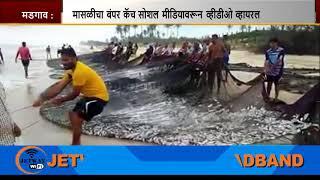"Viral Video Shows ""Bumper"" Fish Catch At Benaulim"