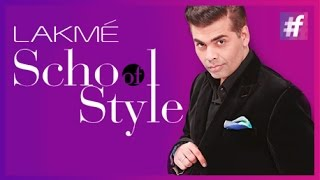 Karan Johar is Ed-in-Chief and Hiring | fame School Of Style
