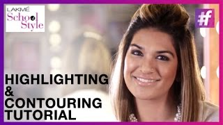 Contouring and Highlighting Tutorial for Beginners | Beauty and Hair Make-Up | #fame School Of Style