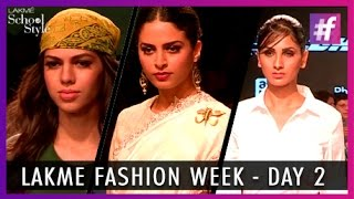 Lakme Fashion Week 2015 Highlights - Day 2 | fame School Of Style