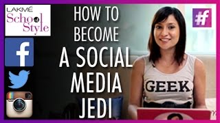 MissMalini's 6 Steps To Becoming A Social Media Jedi | #fame School Of Style