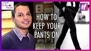 How To Wear Pants? | Men's Fashion and Style | Riaan George | #fame School Of Style