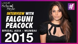 Falguni Peacock Talks About Lady Gaga, Katy Perry and Quirky Brides | #fame School Of Style