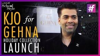 What's Trending - Karan Johar Launches Holiday Jewellery For Men and Women | Gehna Jewellers
