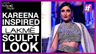 Kareena Inspired Lakme Sculpt Look | fame School Of Style
