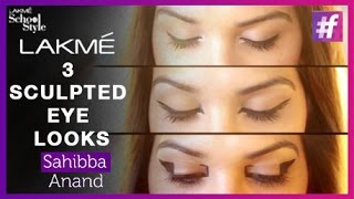 3 Makeup Styles For Sculpted Eyes | fame School Of Style