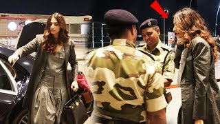 Sonam Kapoor Clicks Selfies With Airport Security, Sweet Gesture By Sonam Kapoor
