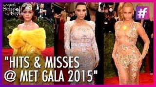 Beyonce, Jennifer Lopez, Rihanna, Kim Kardashian, Katy Perry - Met Gala 2015 | #fame School Of Style