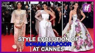 Style Diva Sonam Kapoor's Photoshoot  | Style Evolution |  #fame School Of Style