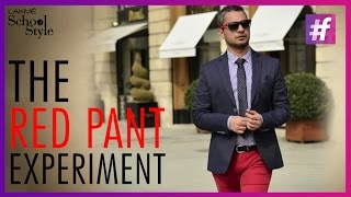 Fashion Tips - 6 Ways To Wear Red Pants This Summer | Mens Style | #fame School Of Style
