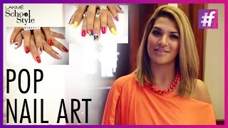 Super Easy DIY Pop Nail Art | fame School Of Style