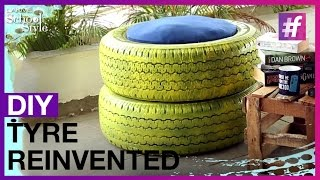 DIY Tyre Reivented | fame School Of Style