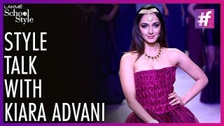 Style Talk with Kiara Advani | IIJW |  fame School Of Style