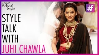 Style Talk With Juhi Chawla | IIJW 2015 | fame School Of Style