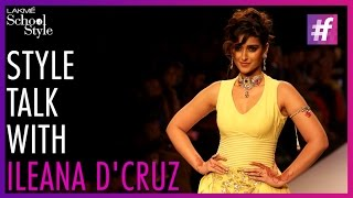 Style Talk with Actress Ileana D'Cruz | IIJW | fame School Of Style
