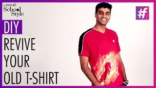 How to DIY Your Old T-Shirts Stylish and Trendy| fame School Of Style