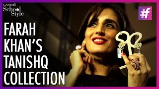 Farah Khan Ali Unveils Her Collection With Tanishq | fame School Of Style