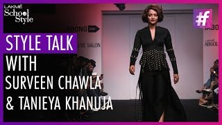 Style Talk With Bollywood Actress Surveen Chawla | Lakme Fashion Week - Winter Festive 2015