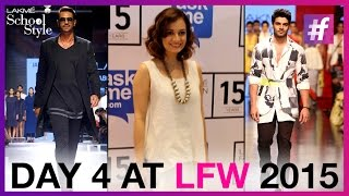 Lakme Fashion Week Winter Festive 2015 - Day 4 | Arjun Rampal And Sooraj Pancholi Walk The Ramp
