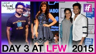 Lakme Fashion Week Winter Festive 2015 - Day 3 | Neha Sharma Walks The Ramp