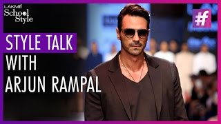 Style Talk With Arjun Rampal | Lakme Fashion Week - Winter Festive 2015