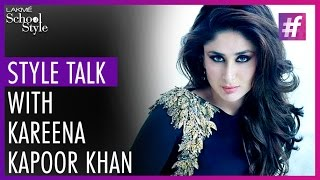 Style Talk With Kareena Kapoor Khan | Lakme Fashion Week - Winter Festive 2015