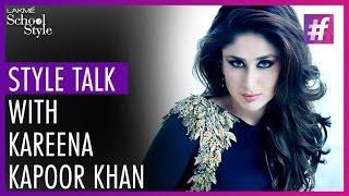 Style Talk With Kareena Kapoor Khan | Lakme Fashion Week - Winter Festive 2015