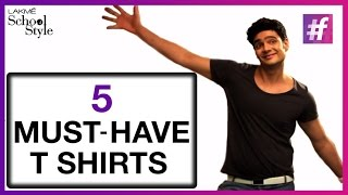 5 Must-Have T-Shirts For Men | Trend Report With Paras Tomar