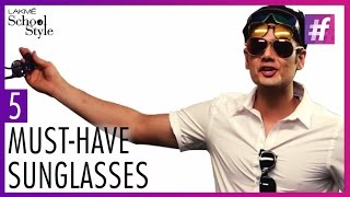 5 Must-Have Sunglasses For Men | Trend Report With Paras Tomar