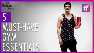 5 Essentials For The Gym | Trend Report With Paras Tomar
