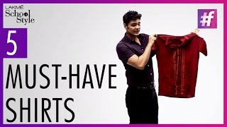 5 Must-Have Shirts For Men | Trend Report With Paras Tomar