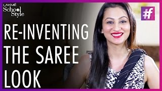 How To Style Your Saree Perfectly | fame School Of Style