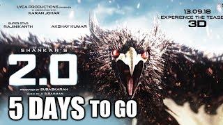 Akshay Kumar Gives Warning, Robot 2.0 Teaser 5 Days To Go
