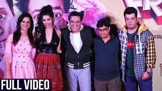 UNCUT | Fryday Trailer Launch | Govinda, Varun Sharma, Digangana Suryavanshi, Brijendra Kala