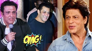 Govinda Talks On Salman Khan, Shahrukh Khan Scared Of Salman Khan;Here's Why