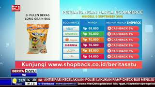 Perbandingan Harga e-Commerce: Si Pulen Beras Long Grain 5 Kg